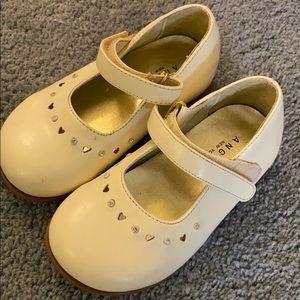 Cream Girls Shoes